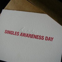 Supermarket - Happy Singles Awareness Day from creativity