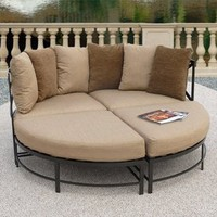 Sanibel Round Lounge, Set of 4 - Outdoor Furniture - Outdoor Decor - Home & Garden