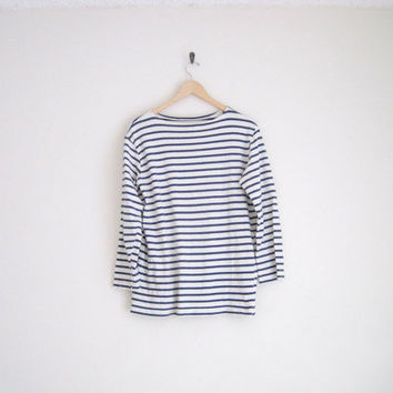 Vintage Breton Striped Shirt Boatneck From Helloambition On