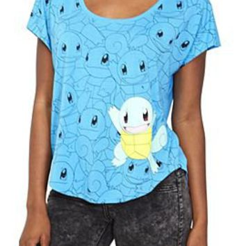 Pokemon Squirtle Dolman Top - 134265