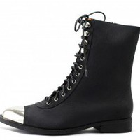 Jeffrey Campbell: Zorro Cap Black and Silver
