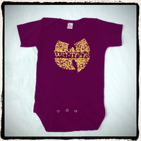 Wu Tang Killa Bees Onesuit One Piece BodySuit 100% Cotton Sz 3 to 18 months FREE SHIP