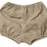 "Zebi Baby ""Brown Crosshatch"" Bum Cover"