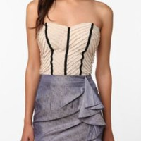 UrbanOutfitters.com > Pins and Needles Ruffle Tube Top