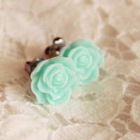 Norah Earrings {Mint}