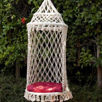 Birdcage Hanging Chair by HANDS
