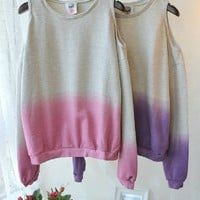 Gradient Sweatshirt  (Purple)