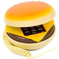 BNM Corporation - Amazon.com: Hamburger Cheeseburger Burger Phone Telephone IN JUNO(Telephone): Everything Else