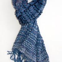 Colorful Day Scarf, Blueberry