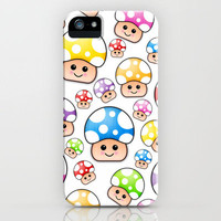Cute Diddy Mini Mushrooms.  iPhone Case by Digi Treats 2  | Society6