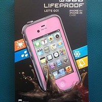 NEW Pink LifeProof Case for the iPhone 4/4s - Free Shipping! US Seller!