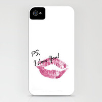 PS, I Love You iPhone Case by Catherine Holcombe | Society6