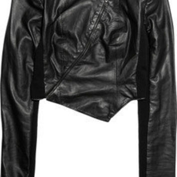 Willow | Cropped leather jacket | NET-A-PORTER.COM