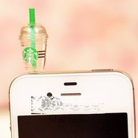 Amazon.com: Cyprustech - Hot New Starbucks Coffee Style 3.5mm Headphone Anti-dust Plug Cap for Iphone 4 4S Samsung Galaxy HTC LG - Transparent Color: Cell Phones &amp; Accessories