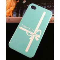Cool Stuff - NEW TIFFANY BLUE BOW-KNOT HARDCASE FOR IPHONE 4/4S