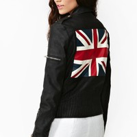 Union Jack Moto Jacket
