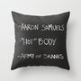 Regina George&#x27;s Resources from the movie Mean Girls Throw Pillow by AllieR | Society6