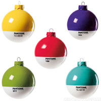 Switched On Set: Pantone Christmas Baubles