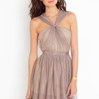 Fancy Knot Dress in  What&#x27;s New at Nasty Gal