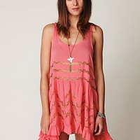 Free People Vivaldi Voile  Lace Slip at Free People Clothing Boutique