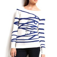 Armani Exchange Zig Zag Logo Tunic