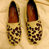Women&#x27;s &amp; Children&#x27;s Handpainted Leopard by extracreditdesigns