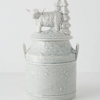 Shaggy Yak Cookie Jar