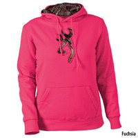 Browning Womens Buckmark Camo Hooded Sweatshirt - Gander Mountain