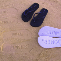 Patricia&#x27;s Wedding Order by FlipSideFlipFlops on Etsy