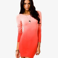 Ombr Bodycon Dress