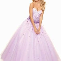 Mori Lee 93047 Prom Dress - PromDressShop.com