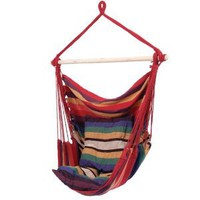 Amazon.com: Hanging Rope Chair - Style SPSWING2: Patio, Lawn & Garden