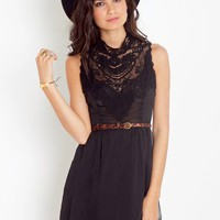 Emme Crochet Dress - Black in Clothes Dresses at Nasty Gal