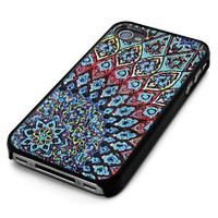 Amazon.com: Black Snap-On iPhone Cover Case for 4/4S iPhone - Aztec Mayan Mosaic Design - Height:4.5 Inches X Width: 2.5 Inches X Thickness:0.5 Inches: Cell Phones & Accessories