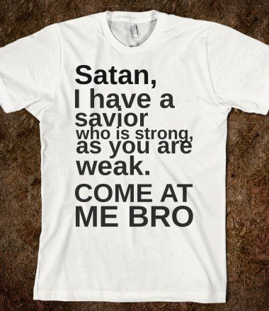 come at me satan - glamfoxx.com