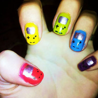 Super Awesome Nerdy NAILS!