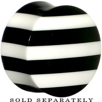 "7/8"" Striped Resin Bone Saddle Plug 