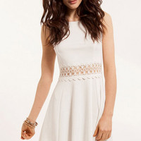 Lace to Waist Dress $32