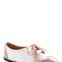 Delightful Dress-Up Flat | Mod Retro Vintage Flats | ModCloth.com