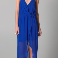 Rory Beca Jones Fishtail Wrap Gown