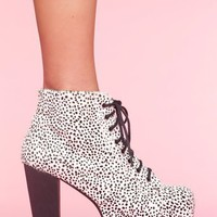 Lita Platform Boot - Snow Leopard in What&#x27;s New at Nasty Gal