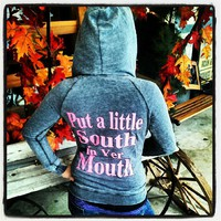 "Southern Charm ""A Lil South In Yer Mouth"" Hoodie"