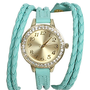 Double Braid Wraparound Watch | Shop Accessories at Wet Seal