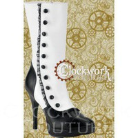 Moulin Rouge Stage Boots - 2 colors - Ladies - Footwear