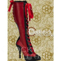 Temptuous Tease Boots - 2 colors - Ladies - Footwear