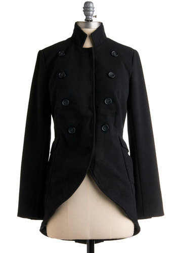 High-Ranking Style Coat | Mod Retro Vintage Coats | ModCloth.com