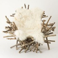 Branches &amp; Fur Chair - Anthropologie.com