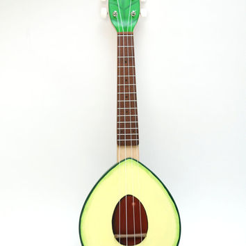 NEW Plywood Avocado ukulele (Avolele)