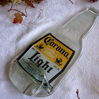 Corona beer bottle spoonrest or plate by bprdesigns on Etsy