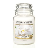Amazon.com: Yankee Candle 22 oz. White Gardenia Jar Candle: Home & Kitchen